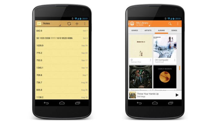 Android_iNotes_Google_Music